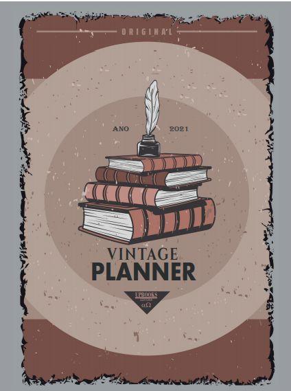 Vintage Planner 2021