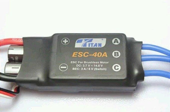 ESC Titan 40A com BEC