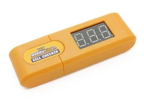 Medidor De Voltagem Digital Bateria Lipo 1 A 6s Hobby KingMedidor De Voltagem Digital Bateria Lipo 1 A 6s Hobby King