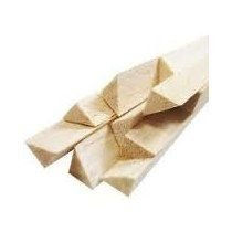 Longarina balsa extra triangular 10 x 90 x 1000mm
