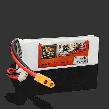 Bateria ZOP Lipo 1500ma -3s - 25C
