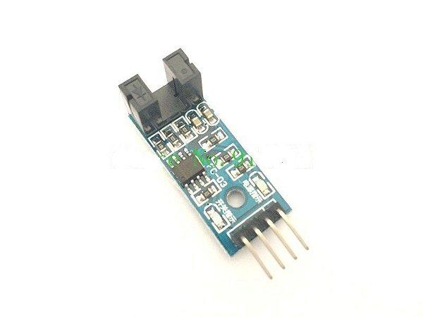 Sensor de velocidade tipo slot