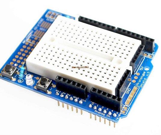 Placa De Expansão Para Arduino Uno Protoboard