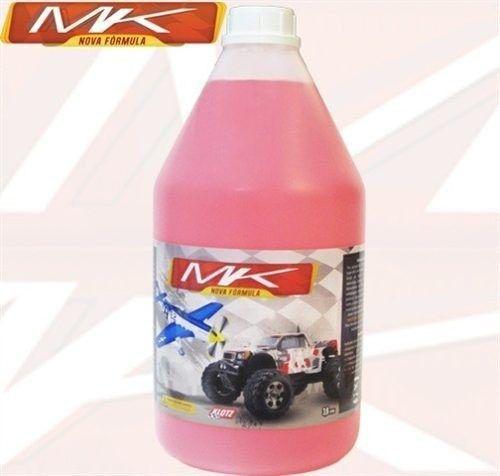 Combustível glow para automodelos 16% nitro e 12% de lubrificantes galão.