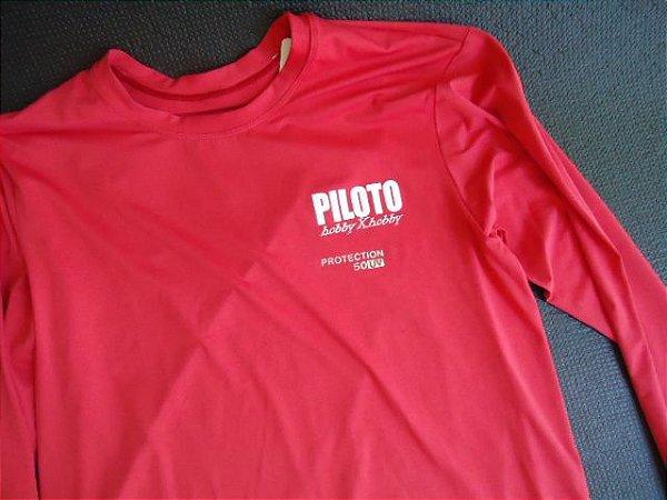 Camisa manga comprida UV fator 50