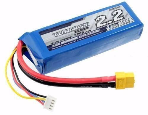 Bateria Turnigy 2200 mah, 3s Li Po 20/30 C
