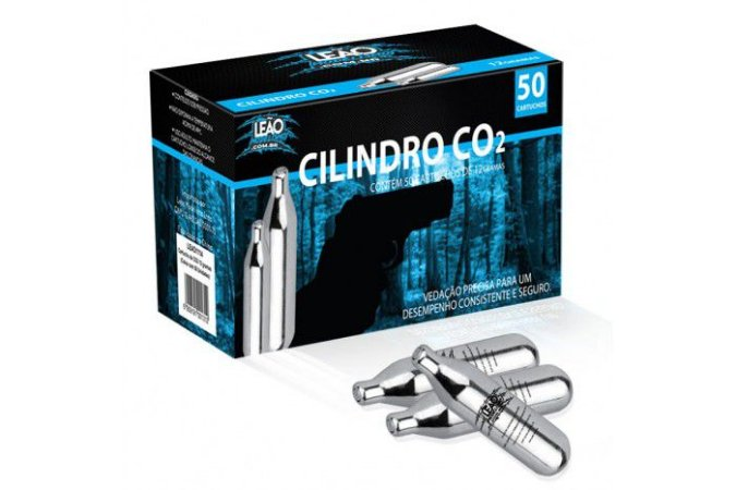 Cilindro CO2 12g Airsoft Paintball - 1 unidade