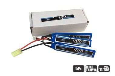 Bateria Lipo - 11.1V/3S(3 pack) - 1100mAh - 20C/40C-AIRSOFT