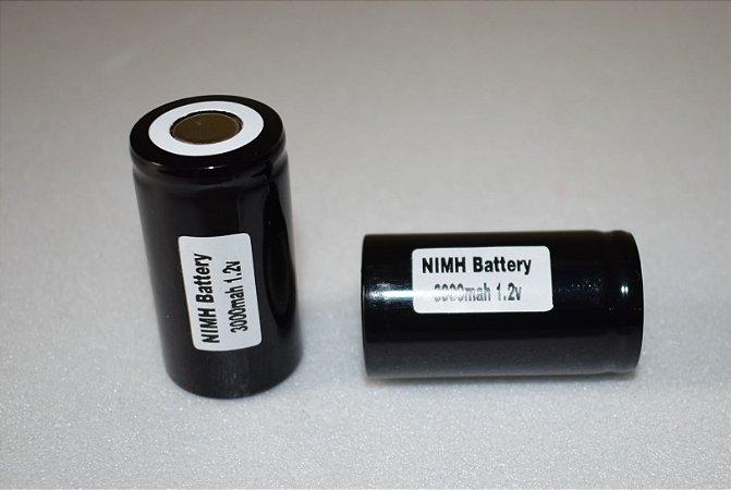 Bateria para aquecedor de vela 3.000 mah 1,2V Unidade.