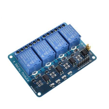 Optoaclopador 4 vias 12 volts