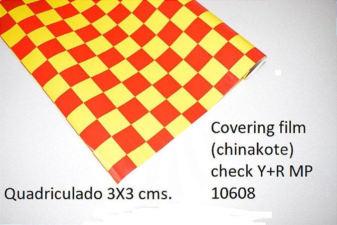 Chinakote quadriculado 3x3 cms.