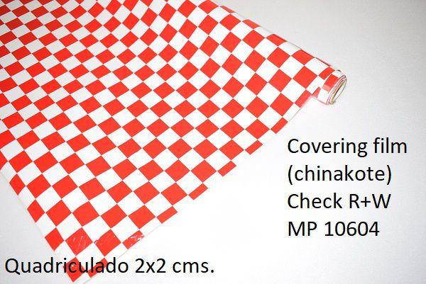 Chinakote quadriculado 2x2 cms.