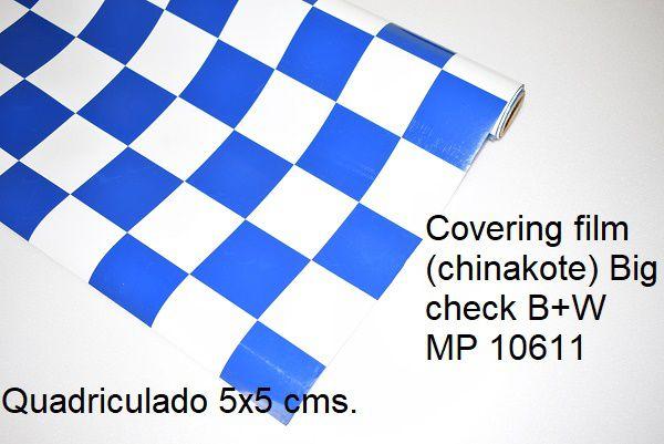 Chinakote quadriculado 5x5 cms.