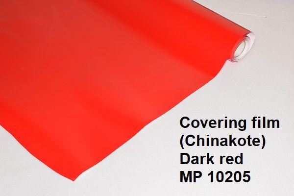 Chinakote vermelho escuro metro.