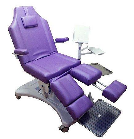 Cadeira Podológica Hidráulica DGM