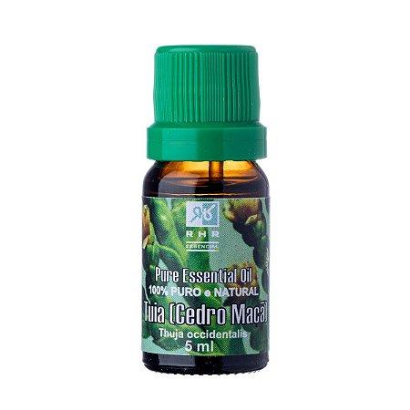 Óleo Essencial de Tuia (cedro de maça) 5 ml RHR