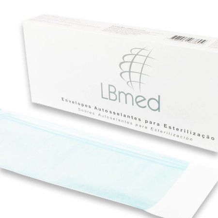 Envelopes Autoselantes LBmed 50mmX130mm com 100 Unids.