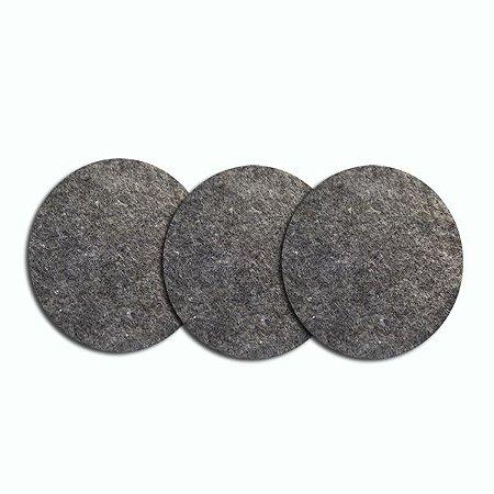 filtro de manta p/ exaustor com 3 unids.(G)