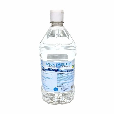 Água Destilada Asfer 1L
