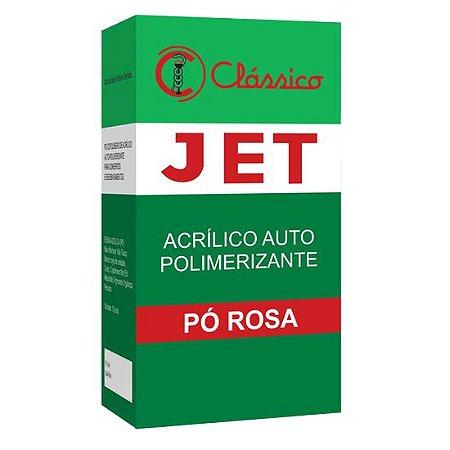 Jet Acrílico Auto  25g Pó Rosa Classico