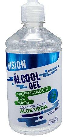 Álcool em gel Vision - 500ML