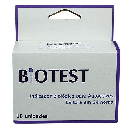Biotest Biomeck Cienífica Indicador Biológico com 10 Unids.