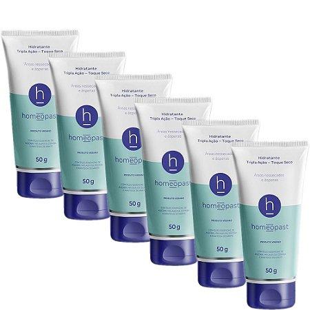 Kit Homeopast Tripla Ação - 50grs 6 unidades