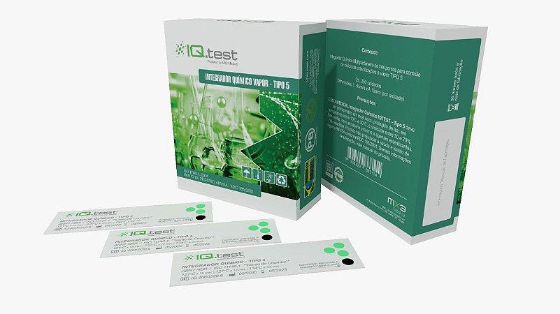 IQtest Integrador Quimico Vapor Tipo 5 - 100  unidades MX3 Medical