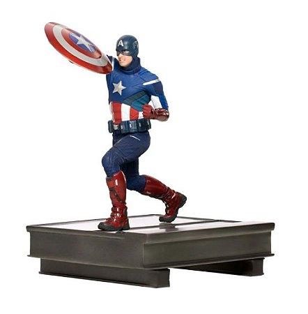 Capitão America: Battle of New York Endgame Avengers 1/10 - Art Scale Iron Studios