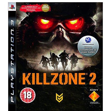 Killzone 2 Europeu - PS3 (usado)