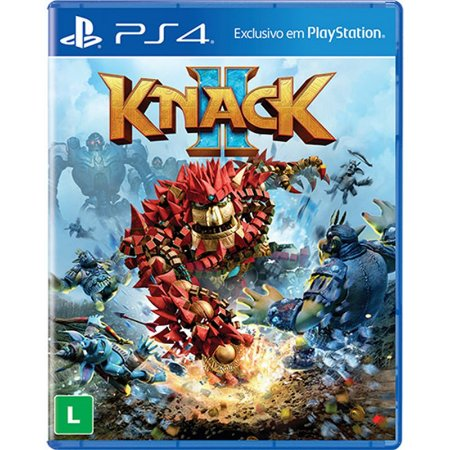 Knack 2 - PS4 (usado)