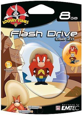Pen Drive Looney Tunes Yosemite 8GB Emtec USB 2.0