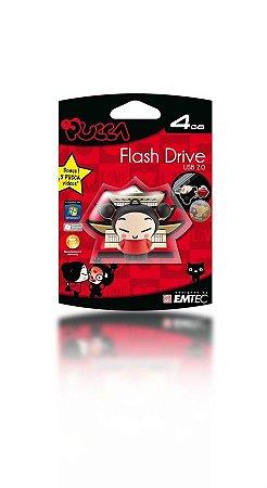 Pen Drive Pucca 4GB Emtec USB 2.0