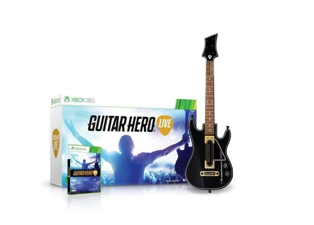 X360 Guitar Hero Live Bundle