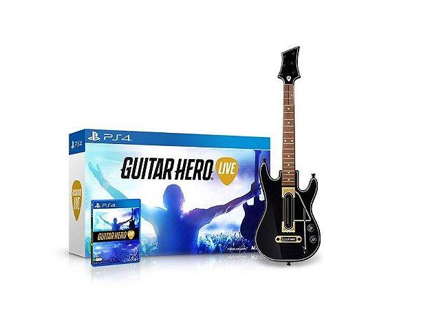 PS4 Guitar Hero Live Bundle