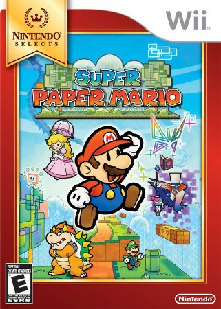 Wii Super Paper Mario (usado)