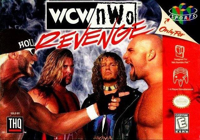 N64 WCW/NWO Revenge (usado/relabel)