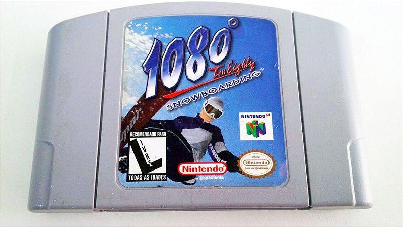 N64 1080 Snowboarding (usado)