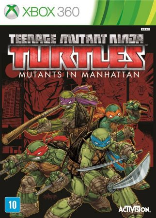 Teenage Mutante Ninja Turtles: Mutants In Manhattan - Xbox 360