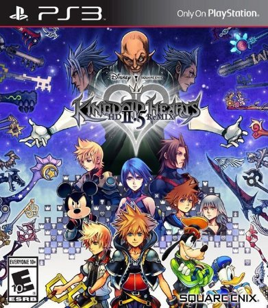 Kingdom Hearts: HD 2.5 Remix - PS3 (usado)
