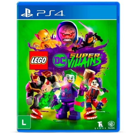 Lego: DC Super Villains - PS4 (usado)