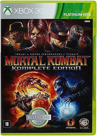 Mortal Kombat: Komplete Edition Hits - Xbox 360 (usado)