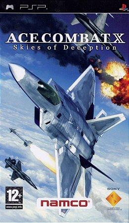 Ace Combat X: Skies of Deception - PSP europeu (usado)