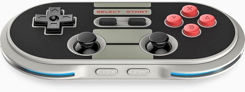 Controle Gamepad Nes30 Pro 8Bitdo Bluetooth PC/Mac/Android/IOS