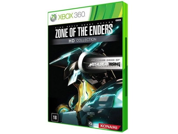 X360 Zone of The Enders - HD Collection (usado)
