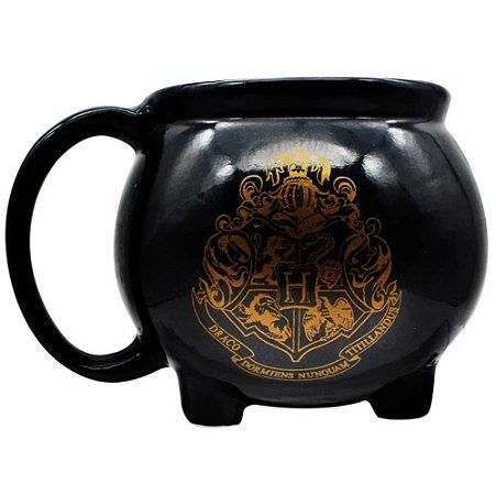 Caneca Caldeirão Hogwarts 3D 500ML: Harry Potter - Zona Criativa