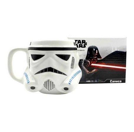 Caneca Stormtrooper 3D 500ML: Star Wars - Zona Criativa