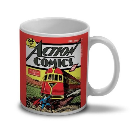 Caneca Superman Action Comics - DC Comics Band UP