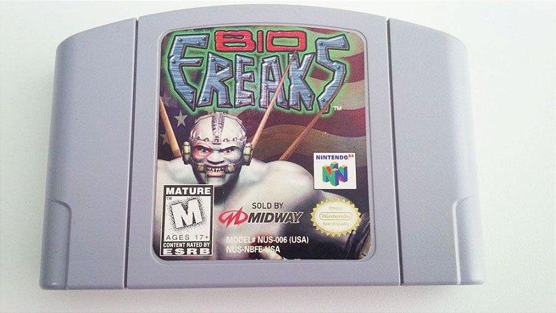 N64 Bio Freaks (usado)