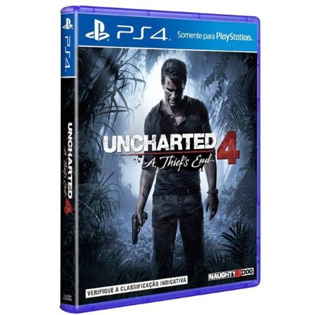 Uncharted 4: A Thief´s End - PS4 (usado)